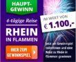Rhein in Flammen 2018 Reise gewinnen Bacchus.de Gewinnspiel